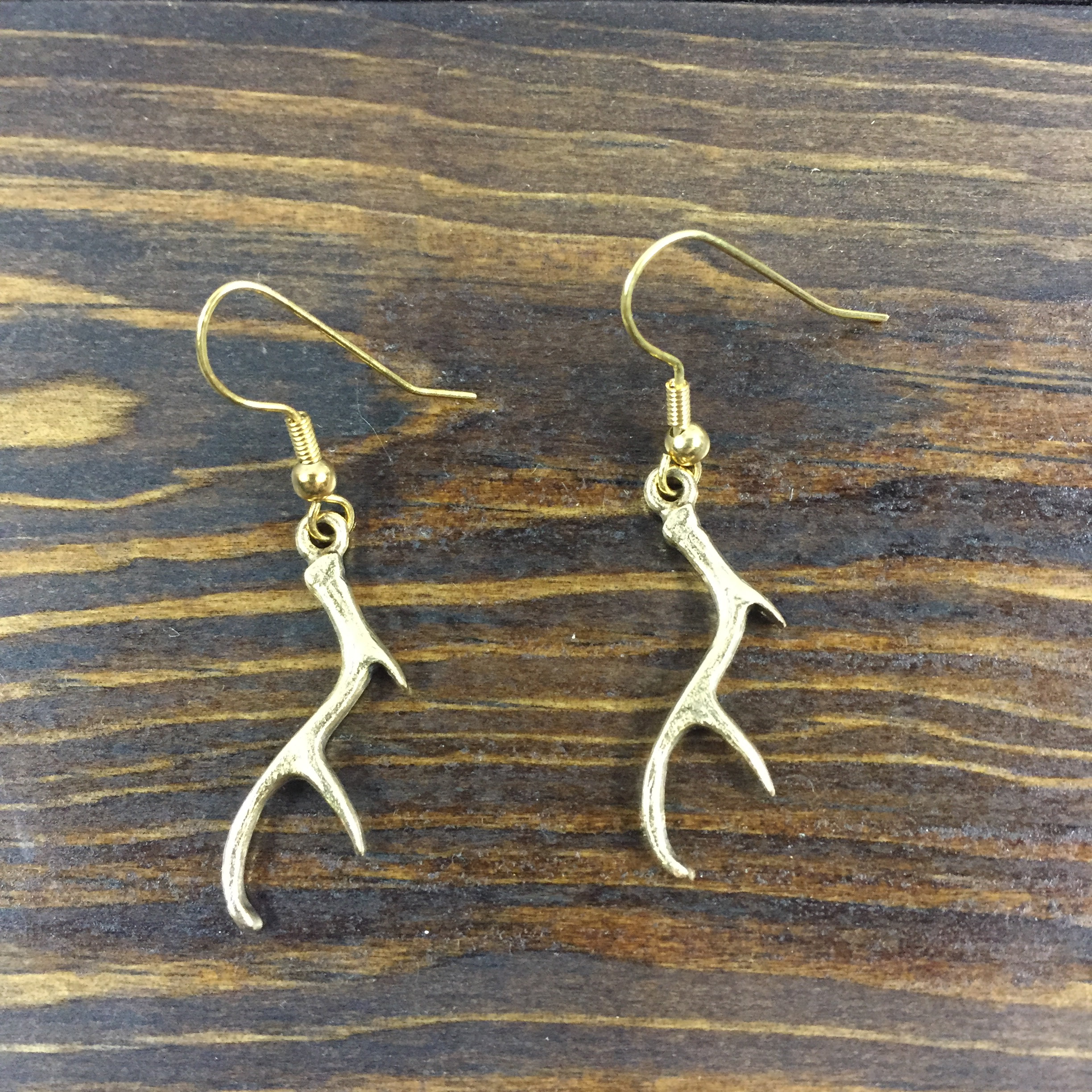 3afaeefc8 ... Antler Earrings (Silver or Gold). Loading.