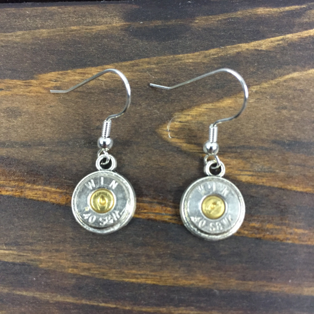 40 Cal Drop Earrings With Primer